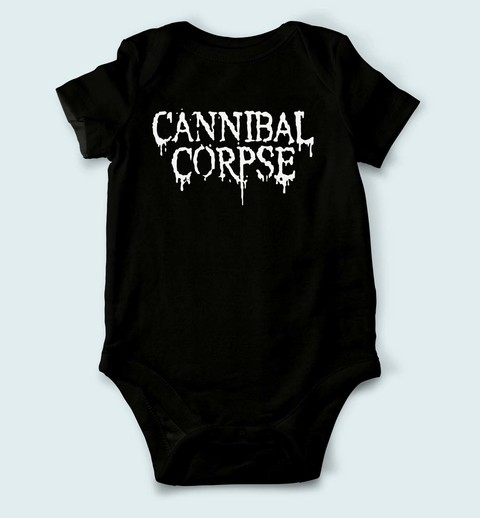 Body de Bebê Cannibal Corpse - CN0001bb - ZN STORE