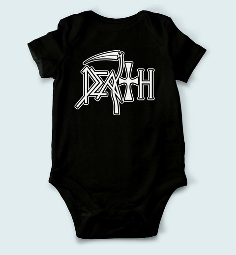 Body de Bebê Death - DH0001bb - ZN STORE