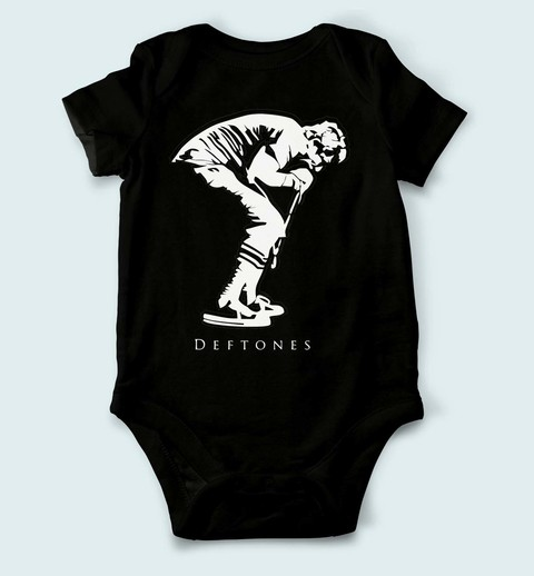 Body de Bebê Deftones - DF0001bb na internet