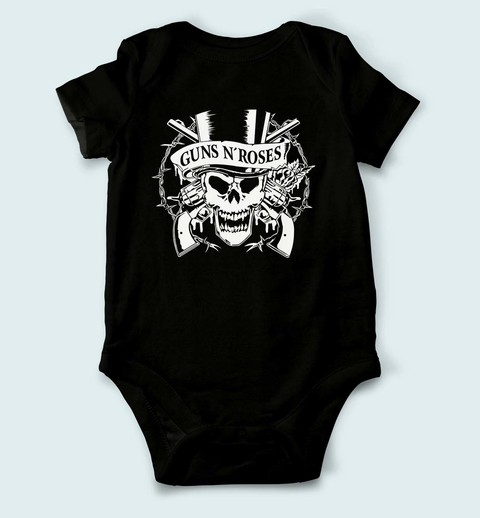 Body de Bebê Guns n Roses - GU0001bb na internet