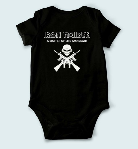 Body de Bebê Iron Maiden - IM0001bb - ZN STORE