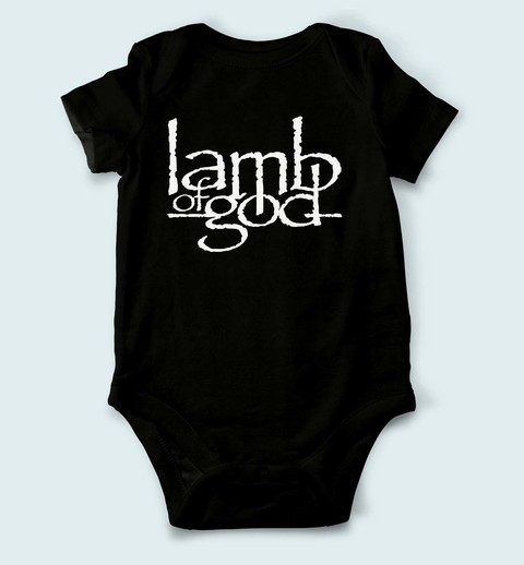 Body de Bebê Lamb Of God - LA0001bb - ZN STORE