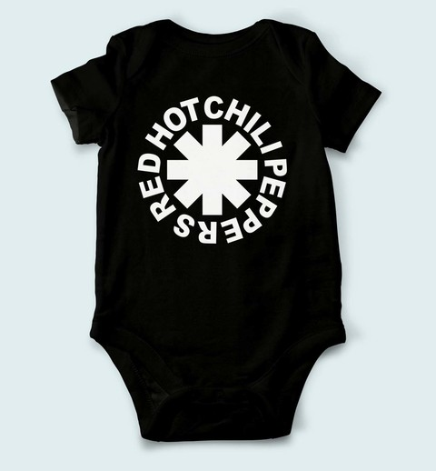 Body de Bebê Red Hot Chili Peppers - RH0001bb - ZN STORE