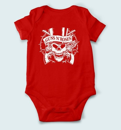 Body de Bebê Guns n Roses - GU0001bb - ZN STORE