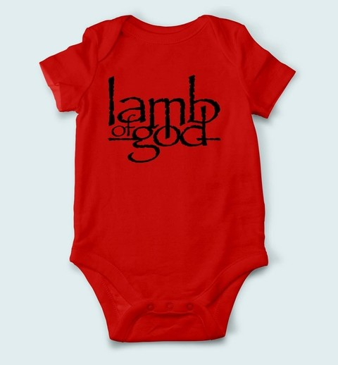 Imagem do Body de Bebê Lamb Of God - LA0001bb