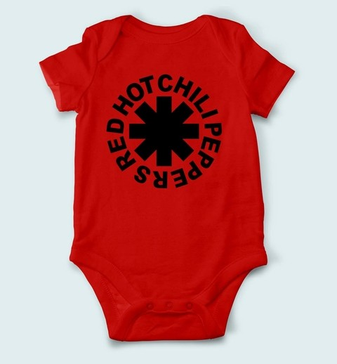 Imagem do Body de Bebê Red Hot Chili Peppers - RH0001bb