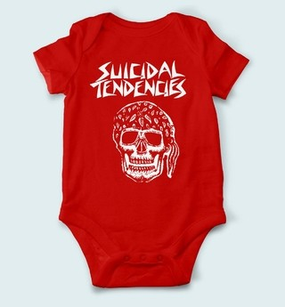 Body de Bebê Suicidal Tendencies - SU0003bb - ZN STORE