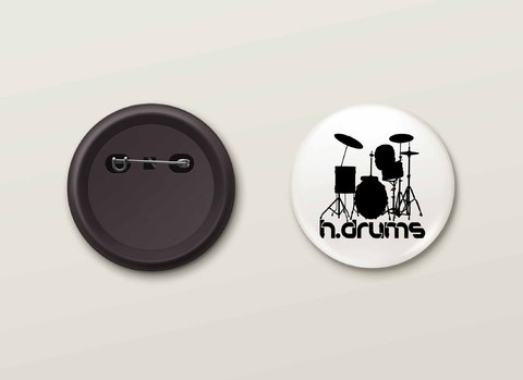 Botton H.Drums - HDBO0001
