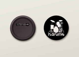 Botton H.Drums - HDBO0002