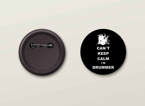 Botton H.Drums - HDBO0003
