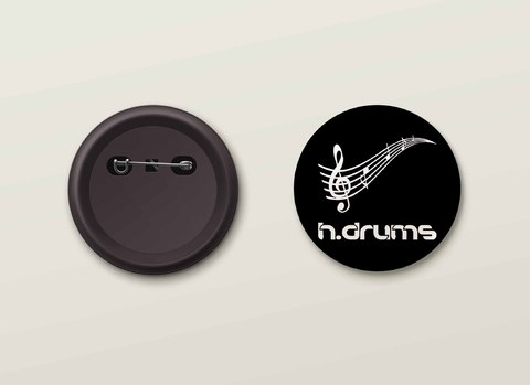 Botton H.Drums - HDBO0007