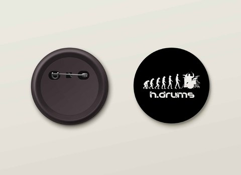 Botton H.Drums - HDBO0010