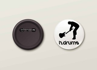 Botton H.Drums - HDBO0011