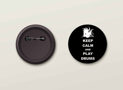 Botton H.Drums - HDBO0014