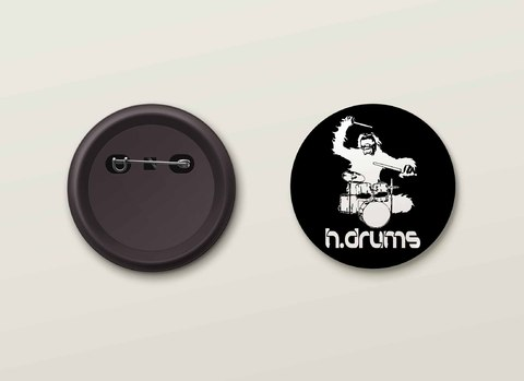 Botton H.Drums - HDBO0018