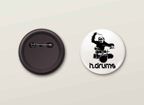 Botton H.Drums - HDBO0017