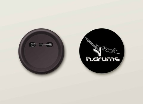 Botton H.Drums - HDBO0020