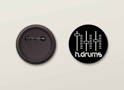Botton H.Drums - HDBO0021