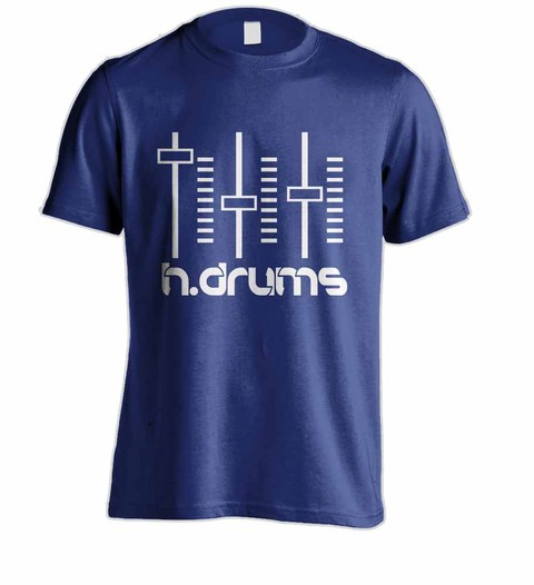 Camiseta H.DRUMS HD0049 na internet