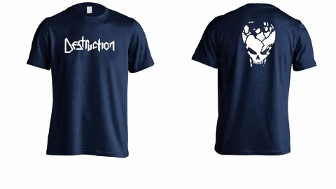 Camiseta Destruction - DE0003 - ZN STORE