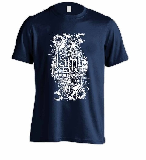 Camiseta Lamb of God - LA0002 na internet