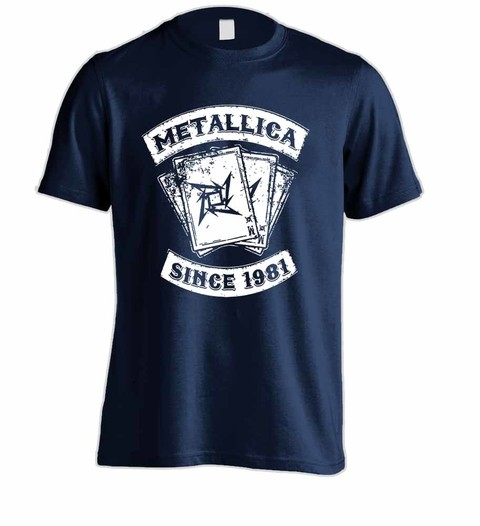Camiseta Metallica ME00009 na internet