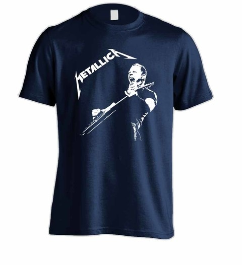 Camiseta Metallica ME00006 na internet