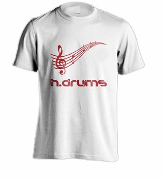 Camiseta H.DRUMS HD0056 na internet