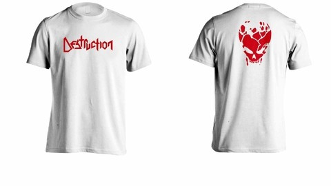 Imagem do Camiseta Destruction - DE0003