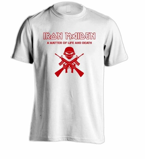 Camiseta Iron Maiden - IM00002