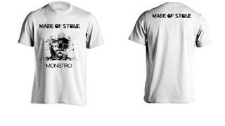 Camiseta Made of Stone - MS00001
