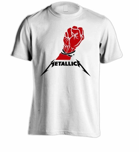 Camiseta Metallica ME00010 na internet