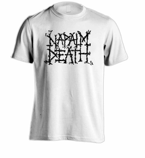 Camiseta Napalm Death - ND0001 - ZN STORE