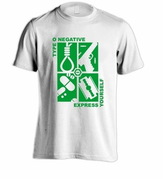 Camiseta Type O Negative - TY0001 - ZN STORE