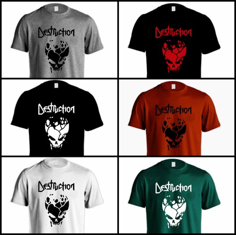Camiseta Destruction - DE0002