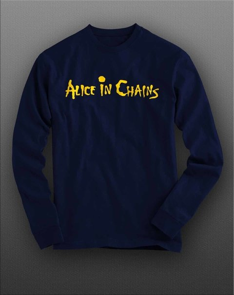 Camiseta Manga Longa Alice in chains - ASML0002 - comprar online