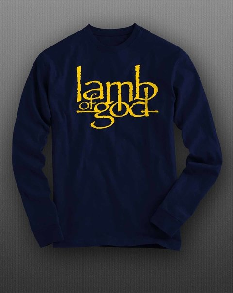 Camiseta Manga Longa Lamb Of God - LAML0001 - ZN STORE