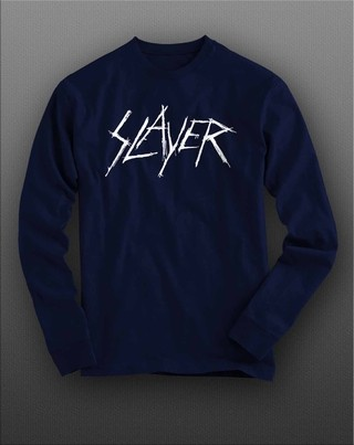 Camiseta manga longa Slayer - SLML0006
