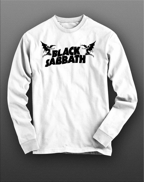 Imagem do Camiseta Manga Longa Black Sabbath - BSML0001