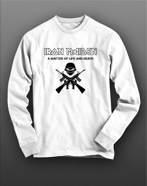 Imagem do Camiseta Manga Longa Iron Maiden - IMML0001