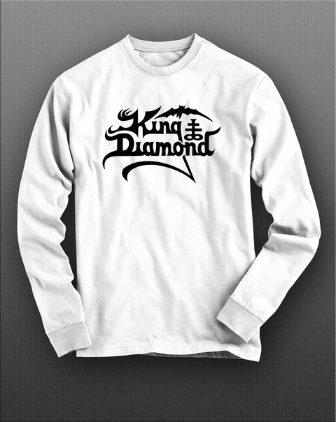 Camiseta manga longa KIng Diamond KIML0003