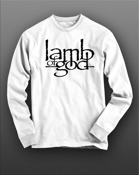 Imagem do Camiseta Manga Longa Lamb Of God - LAML0001
