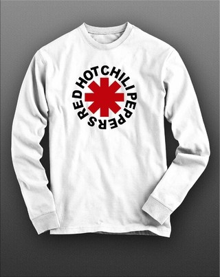 Camiseta manga longa Red Hot Chili Peppers - RHML0008 - comprar online