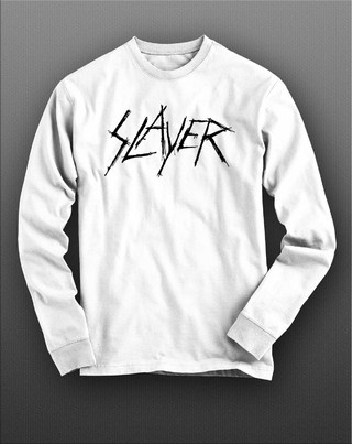 Camiseta manga longa Slayer - SLML0003