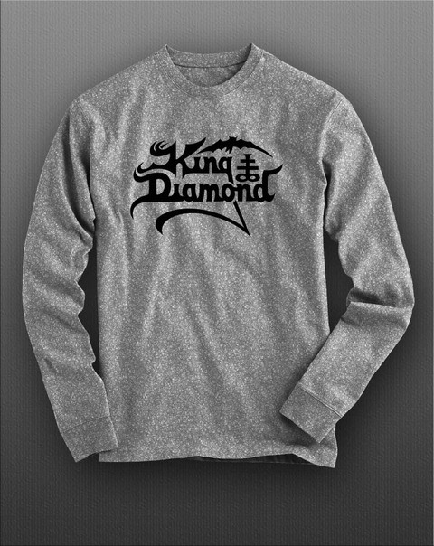 Camiseta manga longa King Diamond KIML0004