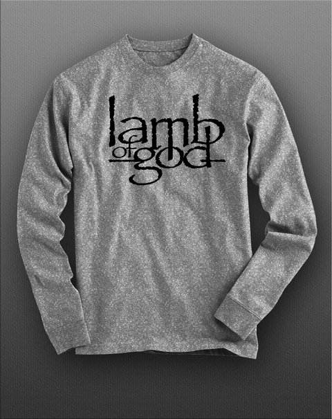 Camiseta Manga Longa Lamb Of God - LAML0001