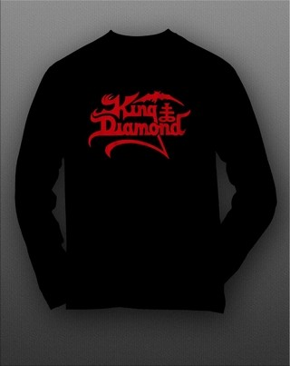 Camiseta manga longa King Diamond KIML0001 na internet
