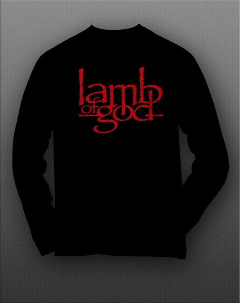 Camiseta Manga Longa Lamb Of God - LAML0001 na internet