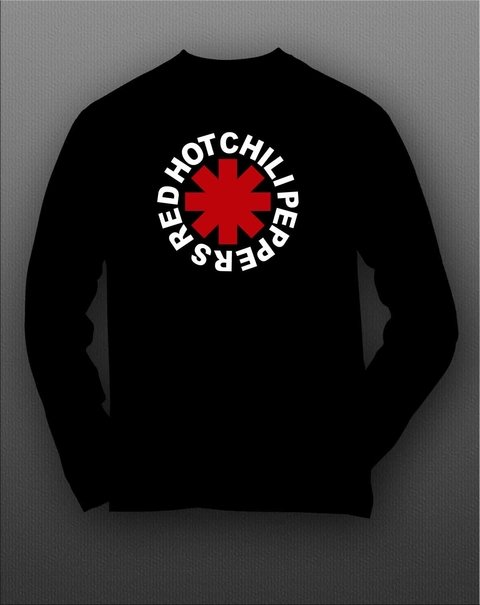 Camiseta manga longa Red Hot Chili Peppers - RHML0002 - ZN STORE