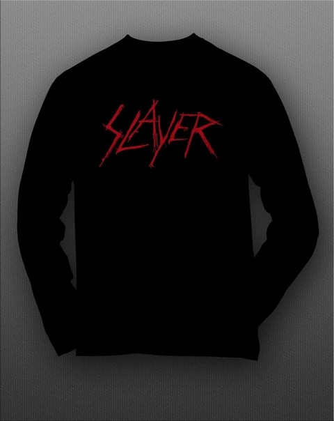 Camiseta manga longa Slayer - SLML0001 na internet